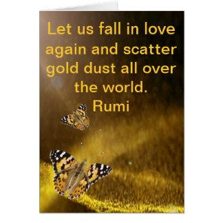 Cartes Automne de Rumi dans l'amour encore