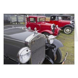 Cartes Automobiles antiques de Ford