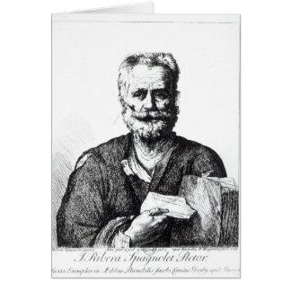 Cartes Autoportrait, 1729