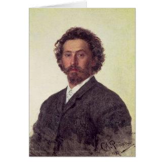 Cartes Autoportrait, 1887