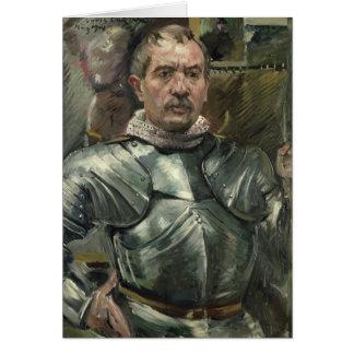 Cartes Autoportrait dans l'armure, 1914
