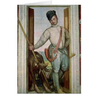 Cartes Autoportrait dans le costume de chasse, 1562