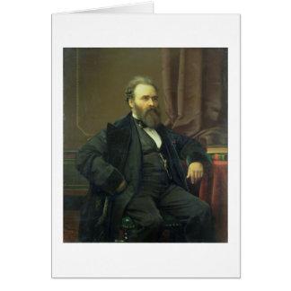 Cartes Autoportrait de l'artiste, 1869 (huile sur la