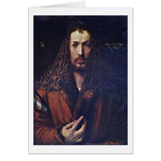 Cartes Autoportrait par Albrecht Durer