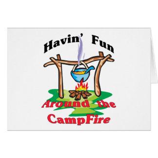 Cartes Autour du feu de camp