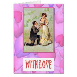 Cartes Avec amour - proposition