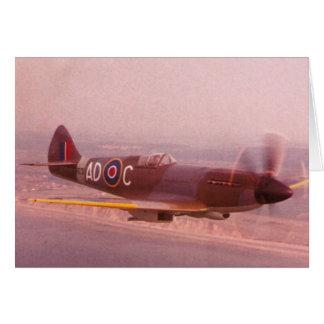 Cartes Avion de Spitfire de Supermarine
