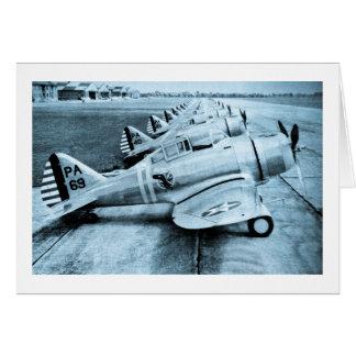 Cartes Avions de combat vintages de 2ÈME GUERRE MONDIALE