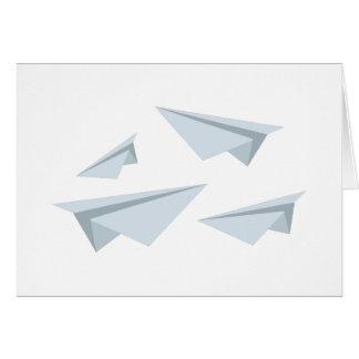 Cartes Avions de papier