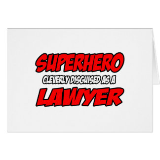 Cartes Avocat de super héros…