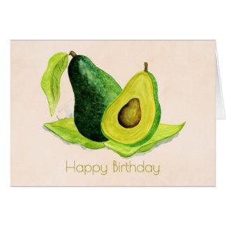 Cartes Avocat vert dans le joyeux anniversaire