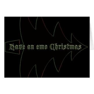 Cartes Ayez Noël d'emo