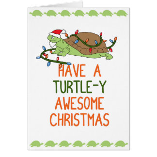 Cartes Ayez Noël impressionnant de Tortue-y