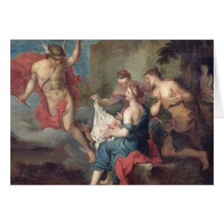 Cartes Bacchus livré aux nymphes de Nysa