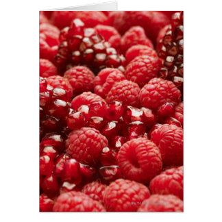 Cartes Baies rouges saines et nutritives