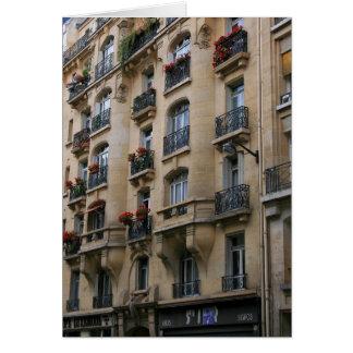 Cartes Balcons parisiens