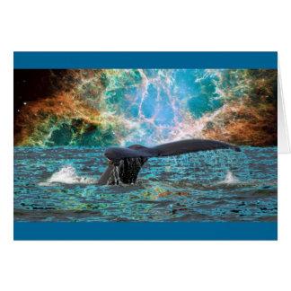 Cartes Baleine et supernova