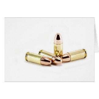 Cartes balles de 9mm