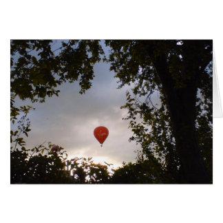 Cartes Ballon à air chaud