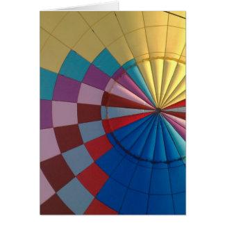 Cartes Ballon à air chaud d'enveloppe