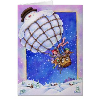 Cartes Ballon de bonhomme de neige