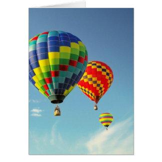 Cartes Ballons à air chauds