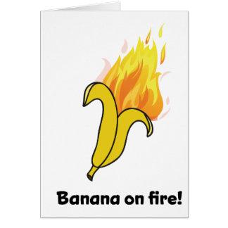 Cartes Banane de Wellcoda la bonne année du feu
