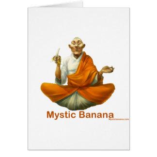 Cartes Banane mystique