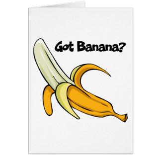 Cartes Banane obtenue