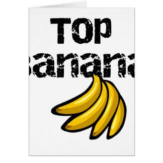 Cartes Banane supérieure