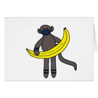 Cartes Bananes allantes au-dessus de vous
