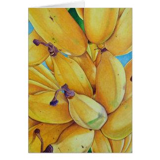 Cartes Bananes du nord de rivage