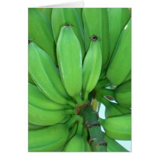 Cartes Bananes vertes hawaïennes