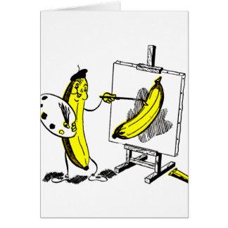Cartes Bananes vintages de kitsch l'artiste de banane