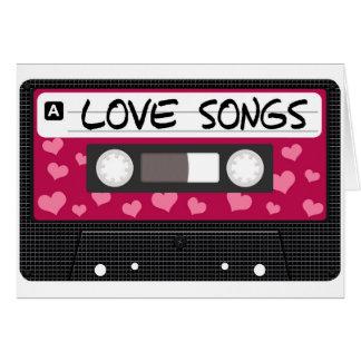 Cartes Bande de chansons d'amour