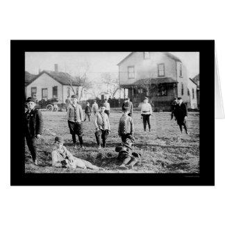 Cartes Bande des garçons à Cleveland, OH 1911