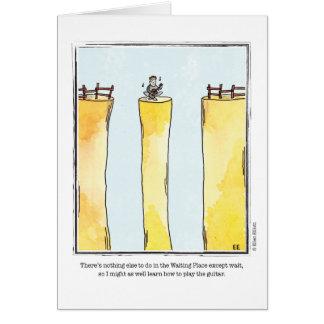 Cartes Bande dessinée de ATTENTE par Ellen Elliott