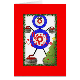 Cartes Bande dessinée de bordage de Noël
