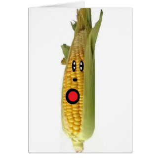 Cartes Bande dessinée de maïs