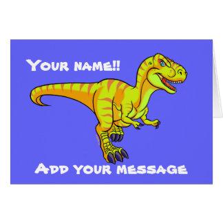 Cartes Bande dessinée de T-Rex