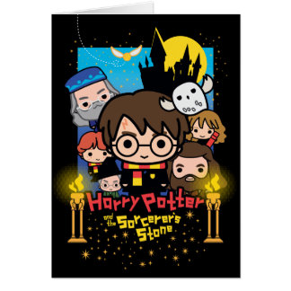 Cartes Bande dessinée Harry Potter et la pierre du