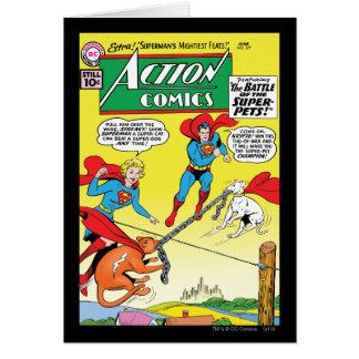 Cartes Bandes dessinées d'action #277