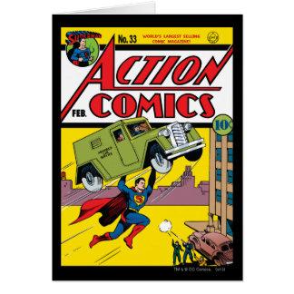 Cartes Bandes dessinées d'action #33