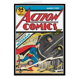 Cartes Bandes dessinées d'action - août 1939
