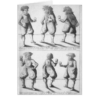 Cartes Baptême de la tribu de Tupinambras