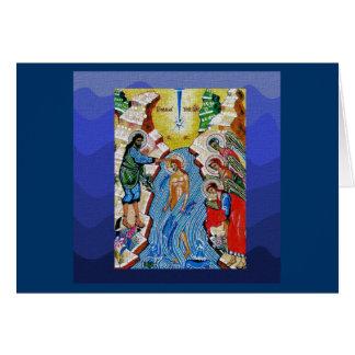 Cartes Baptême du seigneur II