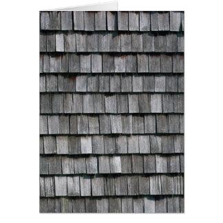 Cartes Bardeaux de bois bardeaux wood shingles