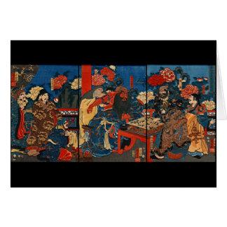Cartes Baron chinois Kan-u 1853