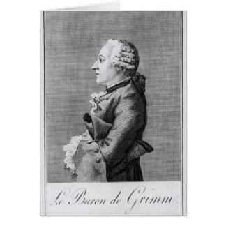 Cartes Baron Friedrich Melchior Grimm