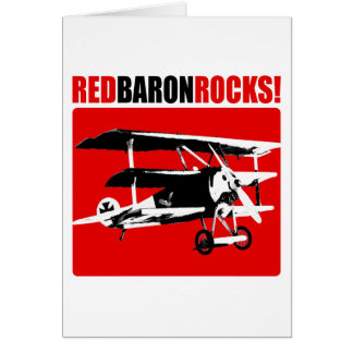 Cartes Baron rouge Rocks !